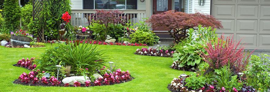 Aménagement de jardin en ville